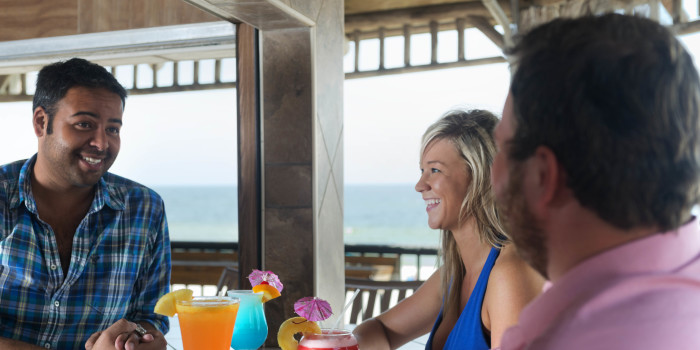 Volcano Bar on Panama City Beach, FL