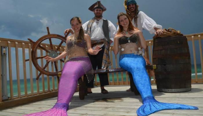 Pirates and Mermaids at Days Inn, Panama City Beach, FL