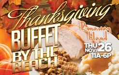 Thanksgiving on Panama City Beach, FL