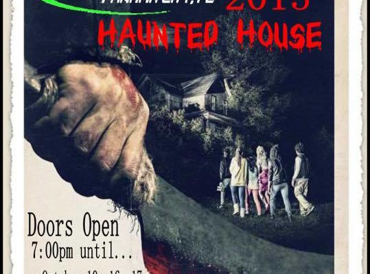 Jaycees haunted house, Panama City, FL