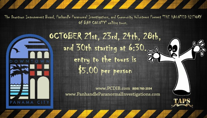 Haunted Walking Tour, Panama City, FL