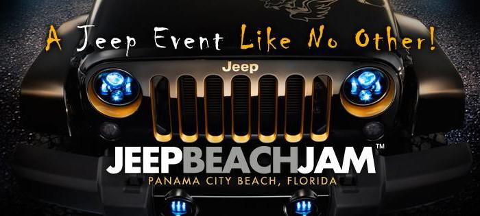 Jeep Beach Jam on Panama City Beach, FL
