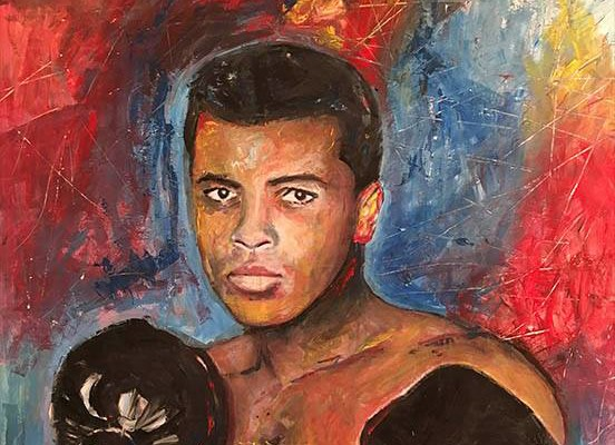 Muhammad Ali exhibit at Panama City Center for the Arts