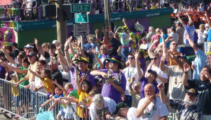 Mardi Gras on Panama City Beach, FL