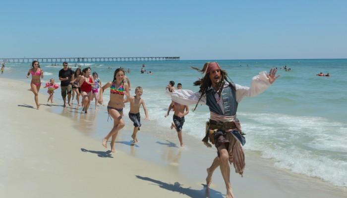 Hollywood comes to Panama City Beach, FL