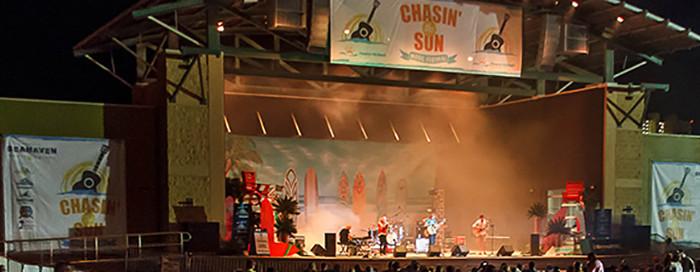 Chasin The Sun Music Festival. Panama City Beach, FL