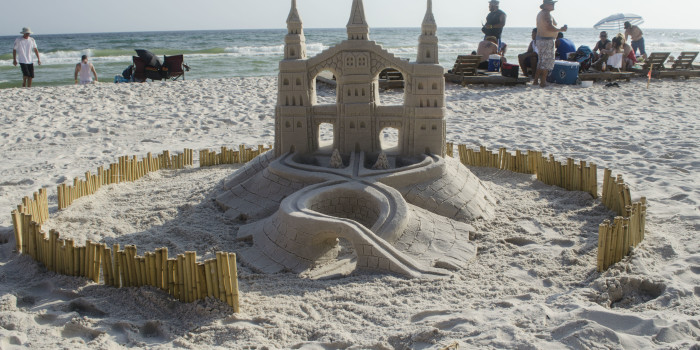 Professional Sandcastles at Days Inn, Panama City Beach, FL