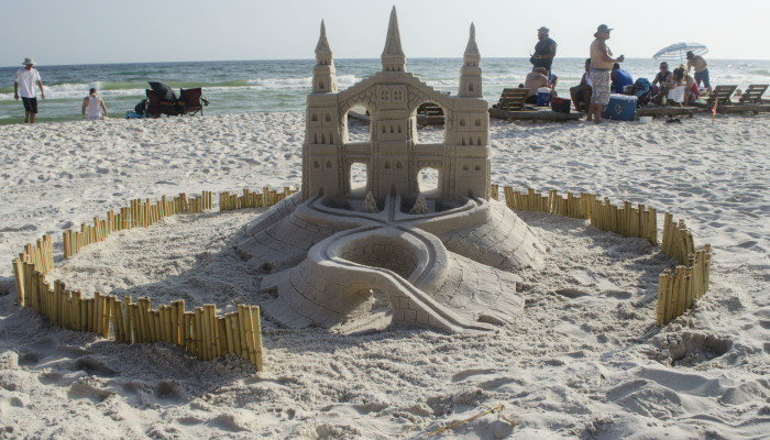 Professional Sandcastles at Days Inn, Panama City Beach, FL