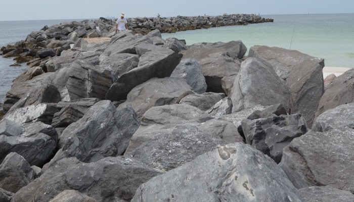 Fishing in St. Andrews State Park Panama City Beach, FL