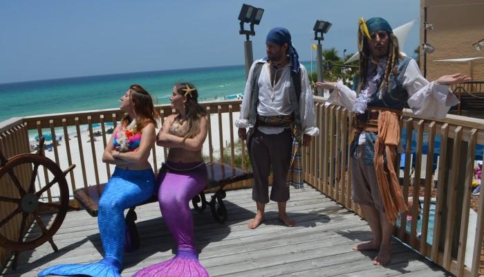 Spanish Explorers and Pirates on Panama City Beach, FL