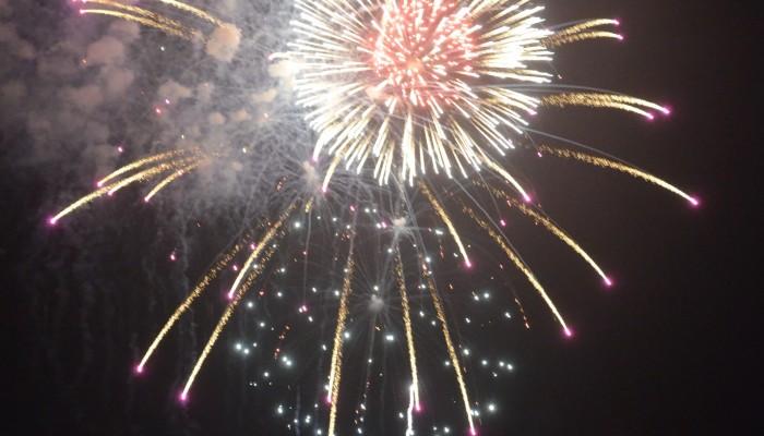 Fireworks in Panama City Beach, FL